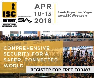 ISC West 2018 free registration